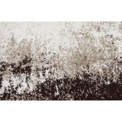 Szőnyeg 160x235 cm, absztrakt, fekete-szürke - TOUNDRA